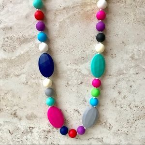 Jewelry - 3/$25 💜 Silicone Teething Necklace for Mom